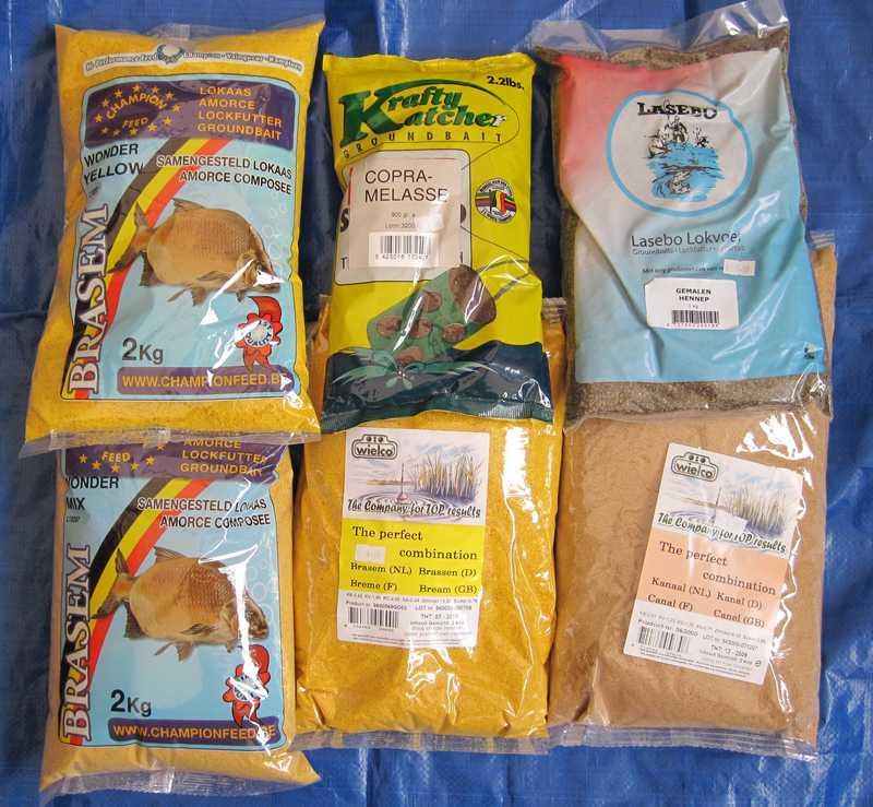 visvoer maken voor witvis